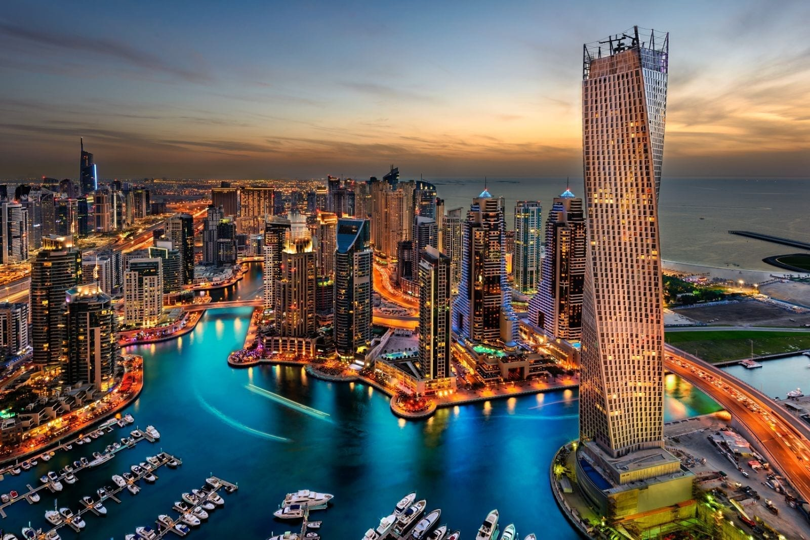 Visit the Marina during your Dubai holiday