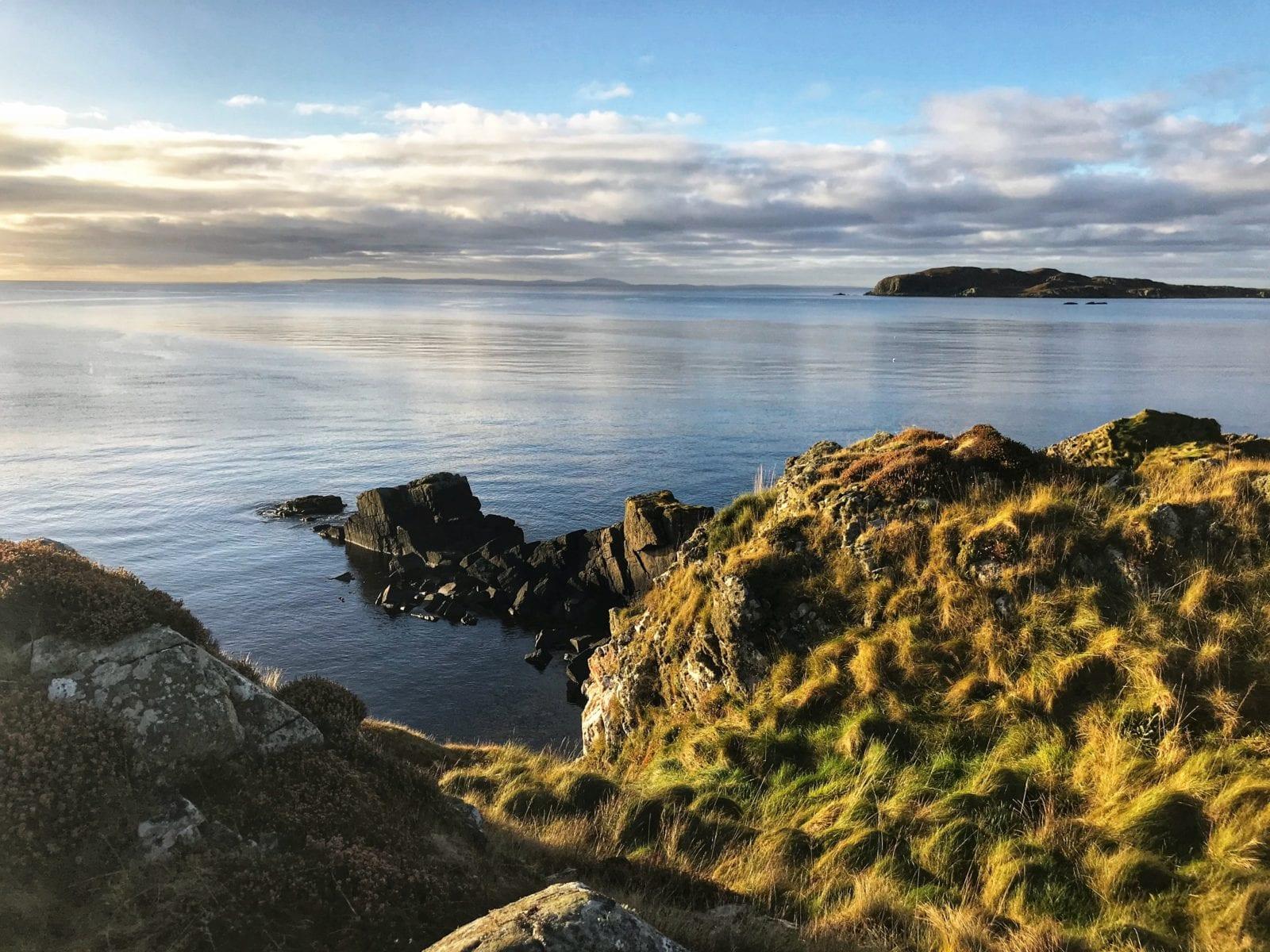 Breaks in Isle of Islay - Coastline of the Isle of Islay, Scotland, UK HR