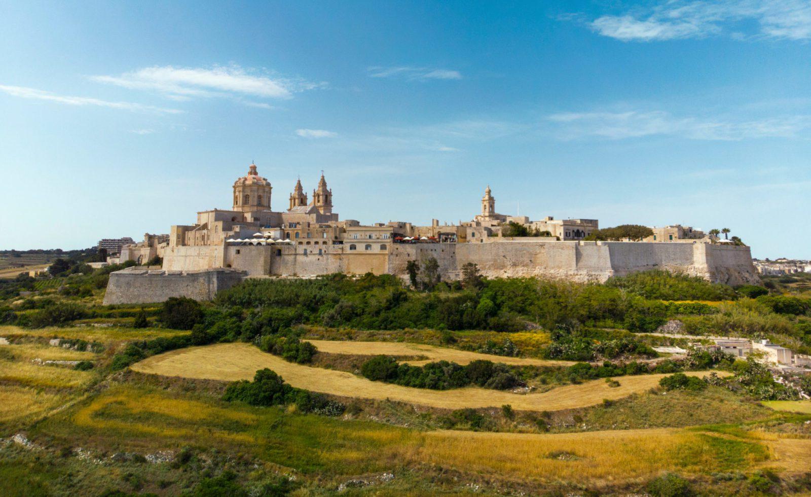 Mdina,City.,Malta
